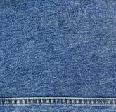 de textuur van het jeansdenim Royalty-vrije Stock Foto's