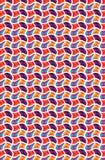 De textuur van het kleurenpatroon Royalty-vrije Stock Foto