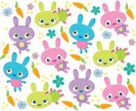 De textuur van het konijn Royalty-vrije Stock Foto's