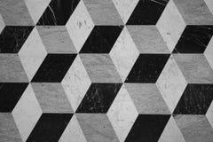 De textuur van het kubuspatroon Royalty-vrije Stock Foto