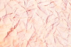 De textuur van het leer die van koehuid wordt gemaakt Royalty-vrije Stock Afbeeldingen