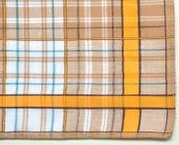de textuur van het linnencanvas Stock Fotografie