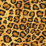 De textuur van het luipaardbont Stock Foto's