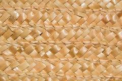 De Textuur van het mandweefsel Royalty-vrije Stock Fotografie
