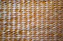 De Textuur van het mandweefsel van rustieke aard Royalty-vrije Stock Foto