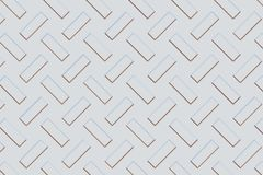 De textuur van het metaal Stock Afbeeldingen