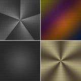 De textuur van het metaalnetwerk Stock Foto