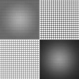 De textuur van het metaalnetwerk Stock Afbeeldingen