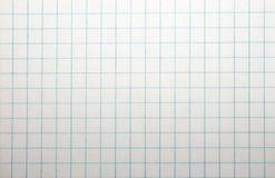De textuur van het notitieboekje in een kooi Royalty-vrije Stock Foto's
