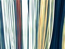 De textuur van het plastiek die binnenlandse decoratieve plinten multi-colored met de kleur van hout bouwen De achtergrond royalty-vrije stock afbeeldingen
