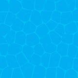 De textuur van het poolwater Stock Foto