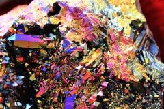 de textuur van het regenboogkristal Stock Afbeelding