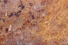 De textuur van het roestijzer Stock Afbeelding