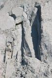 De textuur van het rotsgezicht Royalty-vrije Stock Foto