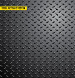 De textuur van het staalpatroon backgroung, ijzer, industrieel glanzend metaal, naadloze, roestvrije, metaaltextuur, vectorillutr Royalty-vrije Stock Fotografie