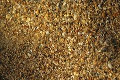 De textuur van het strand Royalty-vrije Stock Afbeelding