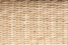 De textuur van het stro Stock Foto's
