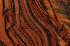 De textuur van het tijgeroog Royalty-vrije Stock Afbeeldingen