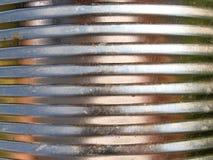 De textuur van het tin stock foto's