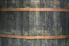 De textuur van het vat stock foto's