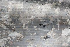 De textuur van het verf staind metaal met willekeurige verf royalty-vrije stock afbeeldingen