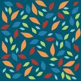 De textuur van het verlof vector illustratie