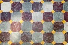 De textuur van het vierkantenpatroon Stock Foto