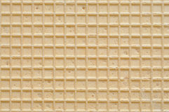 De Textuur van het wafeltje stock afbeelding