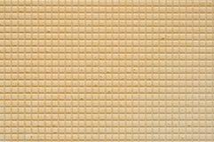 De Textuur van het wafeltje royalty-vrije stock fotografie