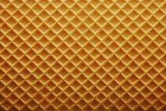 De textuur van het wafeltje royalty-vrije stock foto's