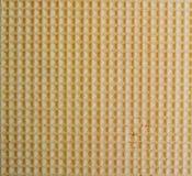 De textuur van het wafeltje. royalty-vrije stock afbeeldingen