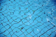 De textuur van het water Royalty-vrije Stock Afbeeldingen