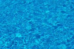 De Textuur van het Water van het Zwembad Royalty-vrije Stock Afbeeldingen