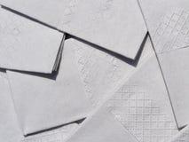 De textuur van het weefsel stock fotografie