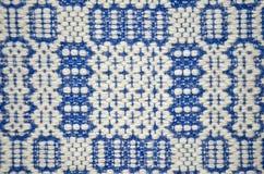 De textuur van het woltapijt Stock Fotografie