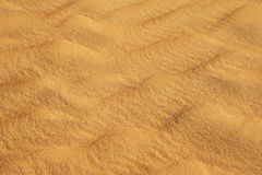 De textuur van het zand Royalty-vrije Stock Fotografie