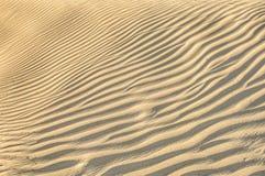 De textuur van het zandduin Royalty-vrije Stock Afbeelding