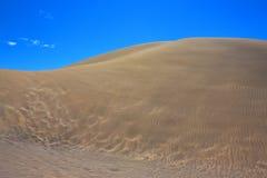 De textuur van het zandduin Stock Foto's