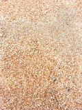 De textuur van het zandstrand Royalty-vrije Stock Afbeeldingen