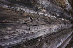 De textuur van houten muur Stock Afbeelding