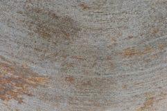 De textuur van de ijzerstrepen in een roestige boog, oud, stock afbeelding