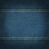De textuur van jeans Royalty-vrije Stock Foto
