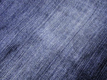 De textuur van jeans Stock Foto's
