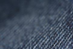 De textuur van jeans Stock Foto