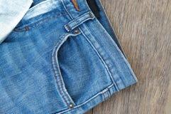De textuur van jeans Royalty-vrije Stock Foto's