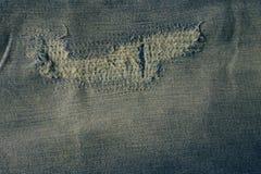 De textuur van jeans met schaaft stock afbeelding