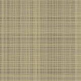 De textuur van de jute Bruine groene stof Canvas naadloos patroon als achtergrond De zakachtergrond van het doeklinnen vector illustratie