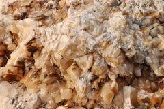 De textuur van de kalkspaatsteen - achtergrond stock fotografie