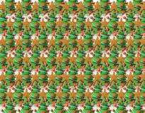 De textuur van kerstbomen Royalty-vrije Stock Afbeeldingen