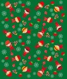 De textuur van Kerstmis Royalty-vrije Stock Afbeelding